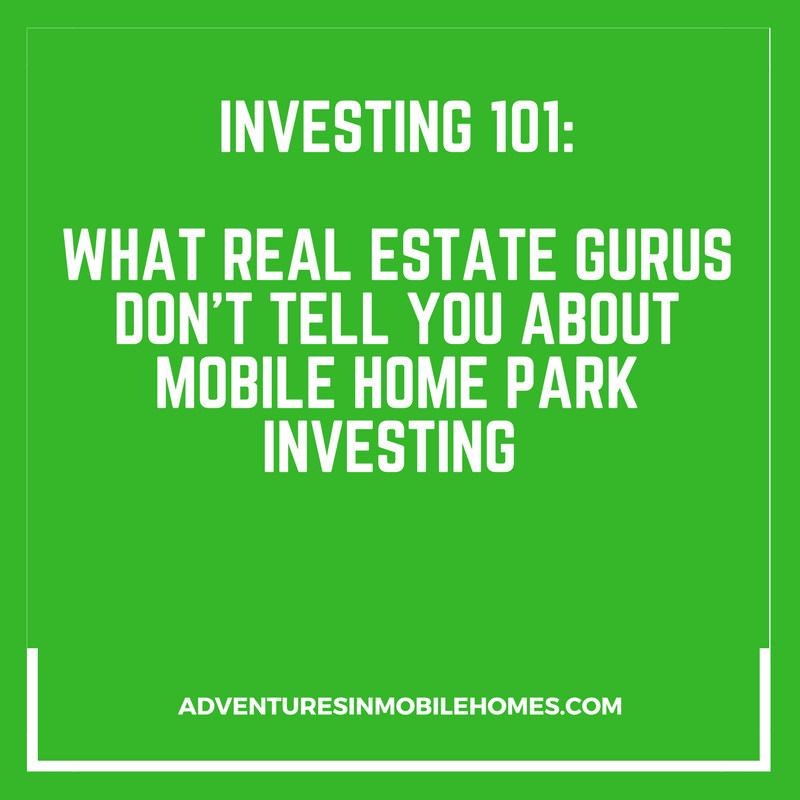 Ever Since This Article Came Out Theres Been Quite A Buzz About Investing In Mobile Home Parks